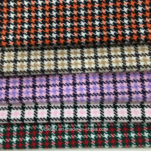 Little Houndstooth Check Wool Fabric pictures & photos