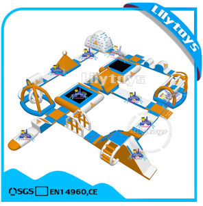 Giant Commercial Inflatable Floating Water Park for Adult