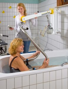 Electric Wall Mount Lift Handicap for Bathtub pictures & photos