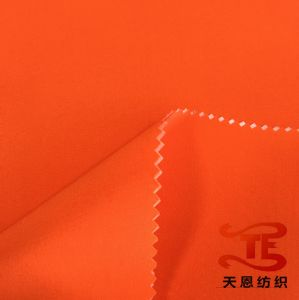 150d Plain Elastic Pongee Fabric Waterproof Fabric with TPU Milky Coating for Outdoor Jackets pictures & photos