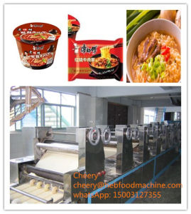 China Industrial Wholesale Oil Frying Instant Noodle Making Machine pictures & photos