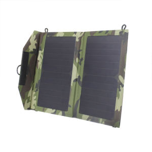 12W Outdoor Solar Dual USB Ports 5V 2.4A Phone PC Charger pictures & photos