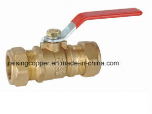 Brass Ball Valve with Compression End pictures & photos