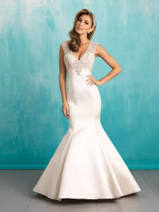 High Quality off-Shoulder Beading Bridal Gown Ruffle Wedding Dress pictures & photos