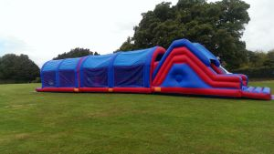 75FT Red & Blue Inflatable Assault Course pictures & photos