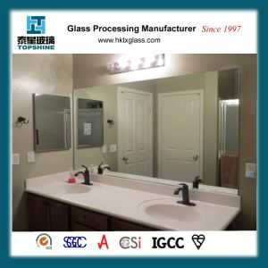 Frameless Wall Mounted Bathroom Mirror for Hotel Room pictures & photos