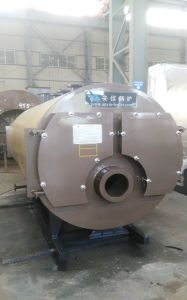 Horizontal Biomass Wood Pellet Hot Water Boiler pictures & photos