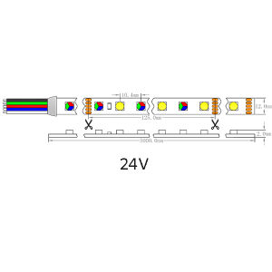 cUL Approved Epistar 5050 RGBW LED Flexible Strip pictures & photos