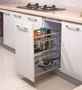 Kitchen Accessory Kitchen Cabinet Drawer Pull out Drawer Basket pictures & photos