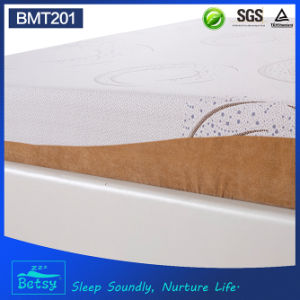 OEM Compressed Foam Mattress 20cm High with Relaxing Memory Foam and Detachable and Washable Cover pictures & photos