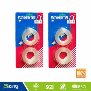 ISO Certificate Easy Tear Super Clear BOPP Stationery Tape pictures & photos