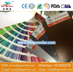 Electrostatic Spray Epoxy Powder Coating for Decoration with FDA Certification pictures & photos