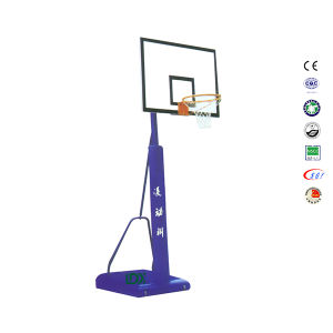 Retractable SMC Backboard Portable Residential Free Standing Basketball Goals pictures & photos