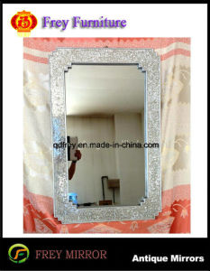 Mosaic Design Decorative Wall Wood Mirror Frame