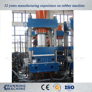 Four Column Type Rubber Vulcanizing Press Machine for Solid Tyre pictures & photos