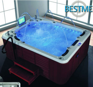 Four-Person-Seats Outdoor SPA Jacuzzi Bathtub (BT-1801) pictures & photos