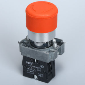 22mm Emergency-Mushroom Type Pushbutton Switch pictures & photos