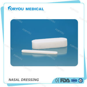 Foryou Medical Nose Bleed Endoscopic Nasal Dressing PVA Hemostatic Sponge Epistaxis Nasal Dressing with String pictures & photos