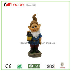 Decorative Garden Polyresin Dwarf with Sawing for Lawn Decoration pictures & photos