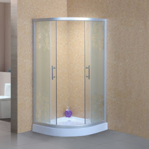 Curved Tempered Shower Glass with-Ce, En12150 pictures & photos