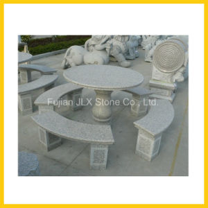 Outdoor Stone Granite Garden Round Table pictures & photos