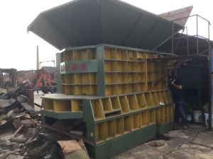 Ws-630 Hydraulic Scrap Metal Shearing Machine pictures & photos