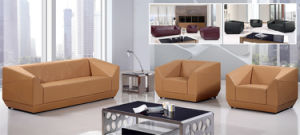 Modern Sofa Furniture Office Sectional Genuine Leather Sofa pictures & photos