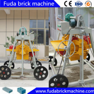 Cinder Mobile Small Manual Block Machine Qmr2-45 pictures & photos