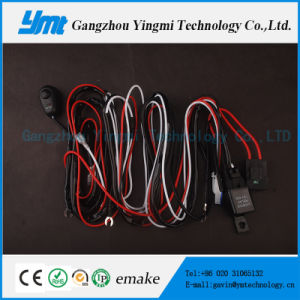 9-60V 72W Cable Harness, Wiring Harness for LED Light Bar pictures & photos