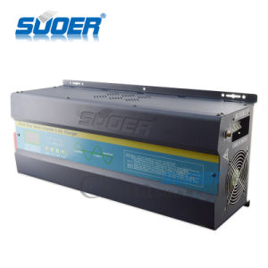 Suoer Low Frequency 4kw 5kw 6kw UPS Pure Sine Wave Inverter with AC Charger (FI 4-6k) pictures & photos