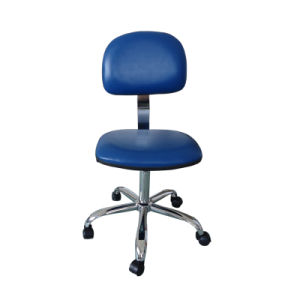 PU Leather Office Antistatic Adjustable Chair pictures & photos
