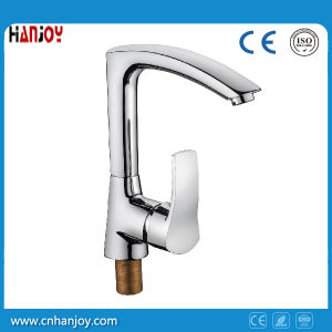 Deck Mounted Single Handle Sink Kitchen Faucet (H01-103S) pictures & photos