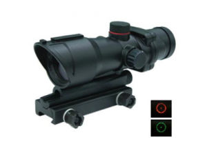 Acog Type 1x32 Tactical Red/Green DOT Sight Gun Scope (WS20611DE) pictures & photos