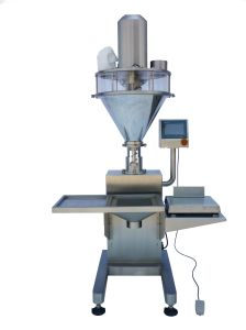 Reliable Semi Automatic Dry Powder Filling Machine pictures & photos