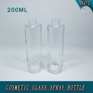 200ml Cylinder Clear Rose Water Cosmetic Glass Mist Spray Bottle pictures & photos