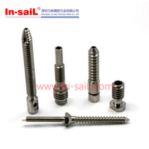 CNC Machining Bronze Cylinder Pins of Auto Engine Part pictures & photos