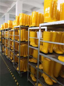 Men Rubber Rain Boots Wholesale Long PVC Work Boots pictures & photos