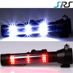 SRS 10 in 1 Multifunctional LED Flashlight Power Bank Rechargeable 18650 LED Flashlight pictures & photos