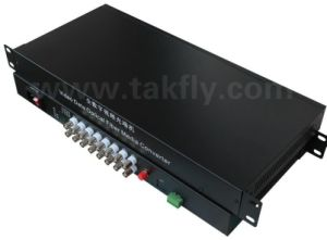 Takfly 16-Channel Video Optical Converter/Media Converter pictures & photos