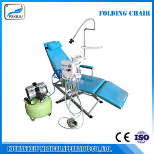 Dental Portable Folding Chair Mobile Unit Turbine Unit pictures & photos