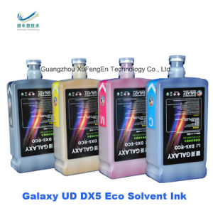 Inkjet Eco Solvent Ink Dx5 Dx7 Printhead Galaxy Printer Ink pictures & photos