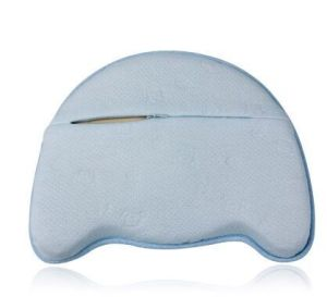 Baby Pillow Memory Foam Head-Positioning Pillow with Breathable Washable Zipped Cover pictures & photos
