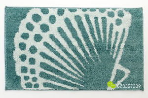 Factory Price Machine Washable Shell Microfiber Hot Sale Shower Mat pictures & photos