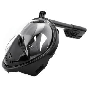 Professional Black Gopro Anti-Fog Mask Snorkels and Diving Fins Ce RoHS FDA pictures & photos