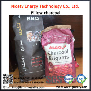 Hong Qiang Low Price Restaunt Bamboo BBQ Charcoal for BBQ
