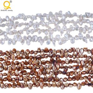 4-5mm High Quality Reborn Keshi Pearl Strands pictures & photos
