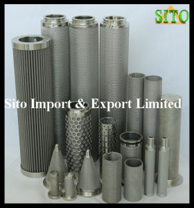 Stainless Steel Tube Filter /Cartridge /Cylinder pictures & photos