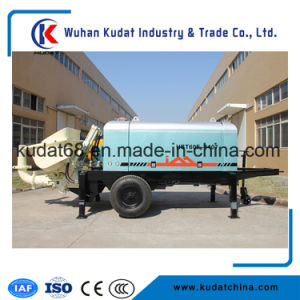 Tralier Mounted Concrete Pump Hbt60e pictures & photos