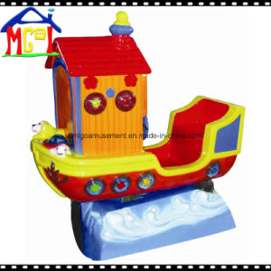 Good Quality Fiberglass Amusement Children Ride Little Boat pictures & photos
