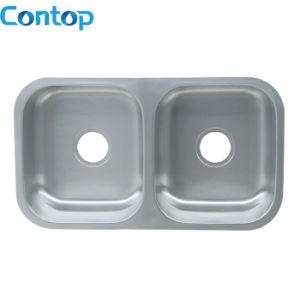 Stainless Steel Kitchen Topmout\Undermount Sink Double Kitchen Sink pictures & photos